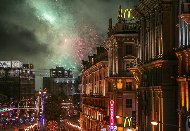 Минск,Вид из окна студии, фотокурсы, курс фотографии Вадима Качана