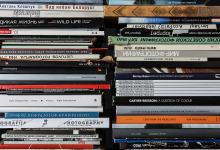 Библиотека, книги о фотографии